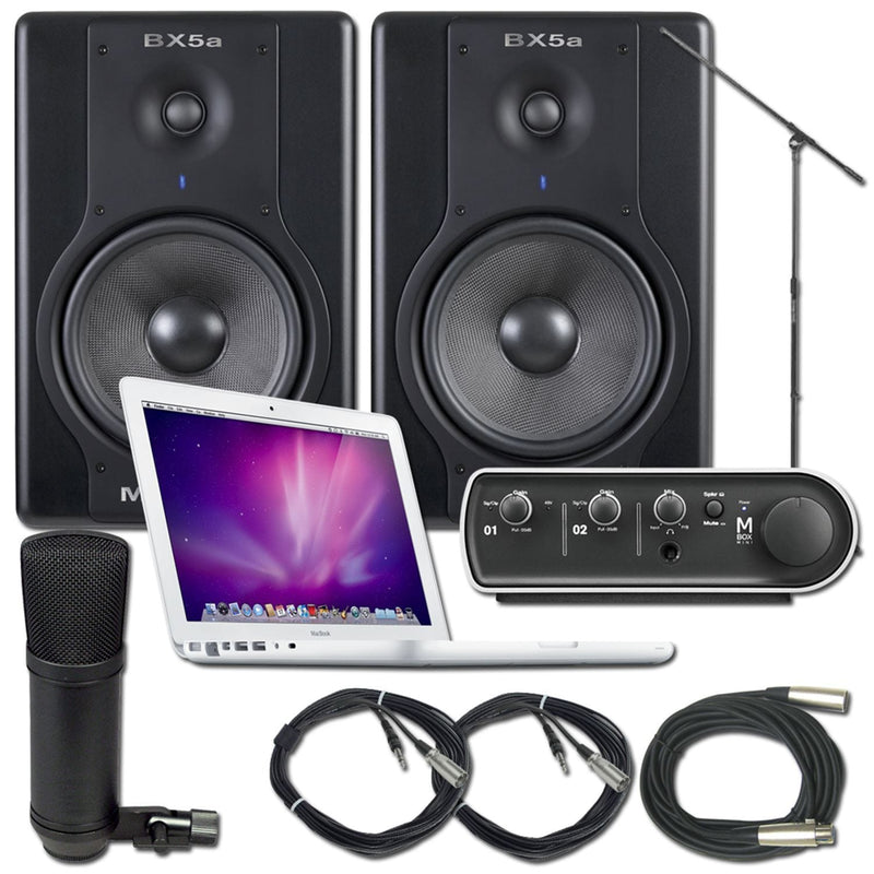 Pro Tools LE Mbox Recording Package With MacBook - PSSL ProSound and Stage Lighting