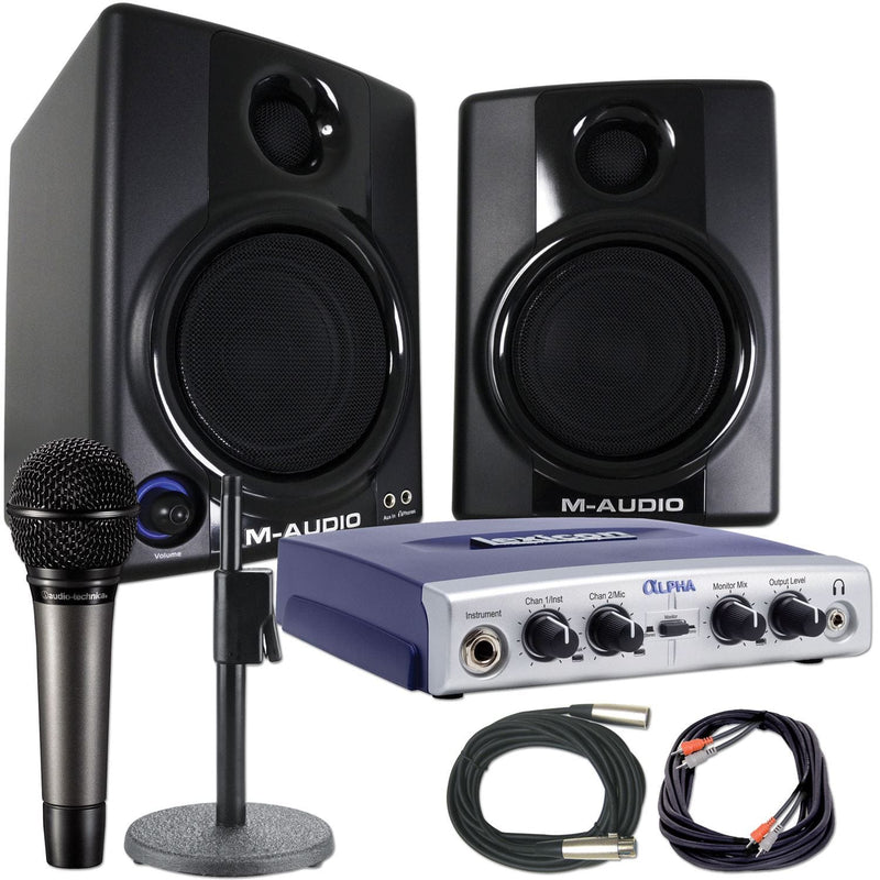 Lexicon & M-Audio Standard Home Recording Package - PSSL ProSound and Stage Lighting