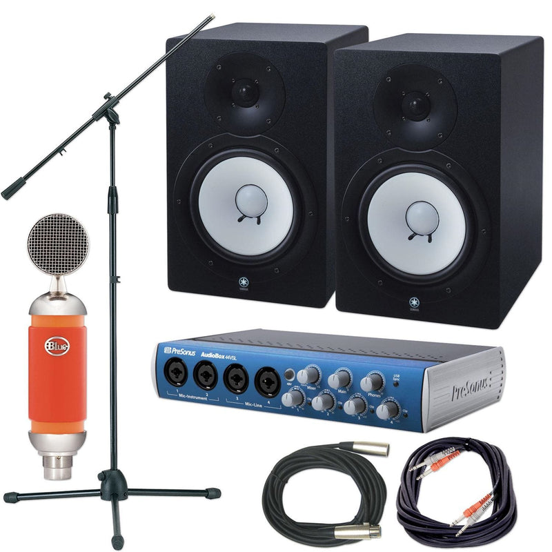 Presonus & Yamaha Premium Home Recording Package - PSSL ProSound and Stage Lighting