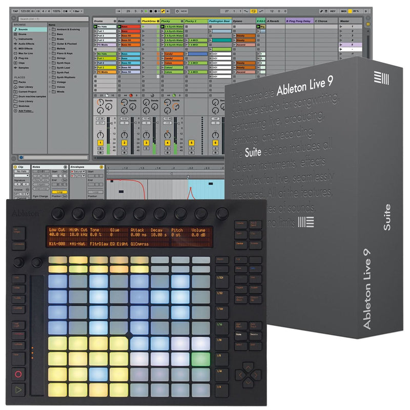 Ableton Push & Suite 9 Upgrade Bundle - PSSL ProSound and Stage Lighting