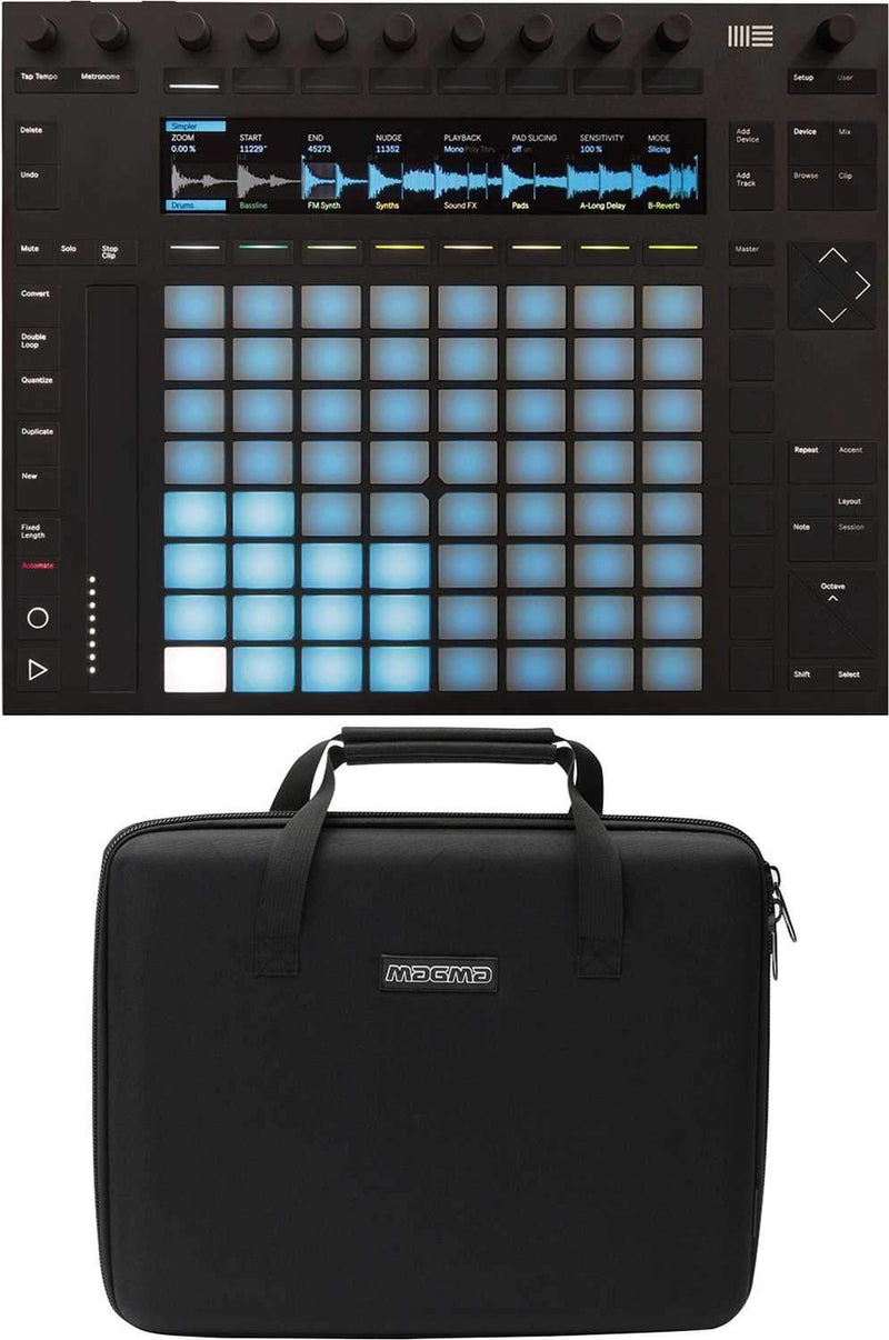 Ableton PUSH 2 Software Controller with Carry Case - PSSL ProSound and Stage Lighting