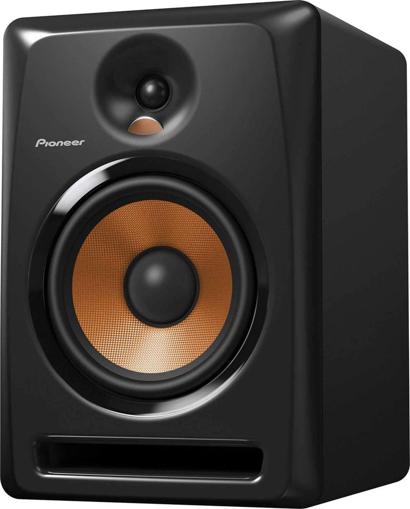 Pioneer BULIT8 8-Inch Powered Studio Monitors Pair - PSSL ProSound and Stage Lighting