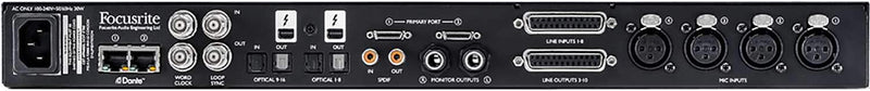 Focusrite Red 4Pre Thunderbolt Audio Interface - PSSL ProSound and Stage Lighting
