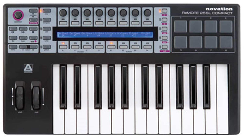 Novation REMOTE-25-SL-C 25-Key USB/MIDI Controller - PSSL ProSound and Stage Lighting