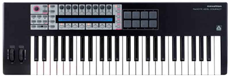Novation REMOTE-49-SL-C 49-Key USB/MIDI Controller - PSSL ProSound and Stage Lighting