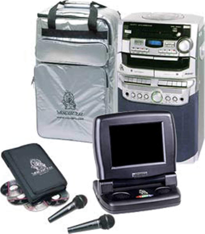 Vocopro DVD Rave Karaoke Package System W / Ltv-5 - PSSL ProSound and Stage Lighting