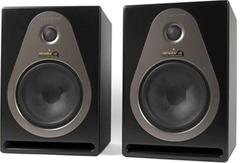 Samson RESOLVA8 8 Inch Active Monitors (pair) - PSSL ProSound and Stage Lighting