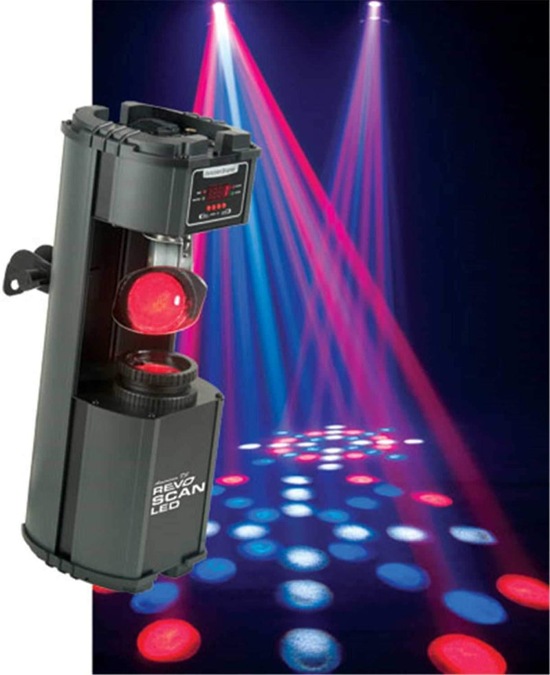 American DJ REVO-SCAN-LED DMX LED Color Scanner - PSSL ProSound and Stage Lighting
