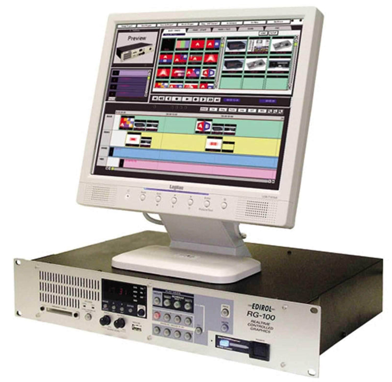 Edirol RG100 Realtime Graphics Presenter - PSSL ProSound and Stage Lighting