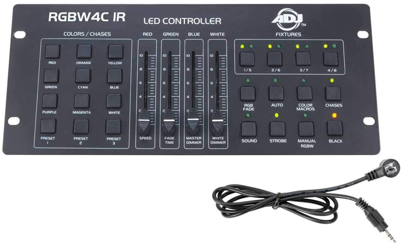 ADJ American DJ RGBW 4C IR DMX Light Controller - PSSL ProSound and Stage Lighting