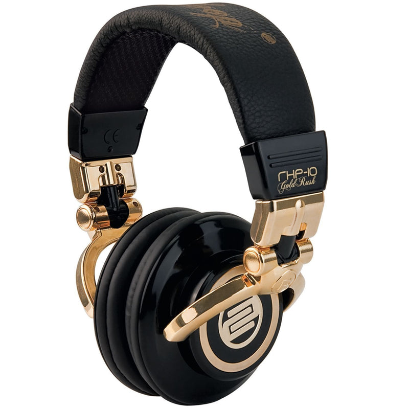 Reloop RH10GOLDRUSH Gold Rush Pro Dj Headphones - PSSL ProSound and Stage Lighting
