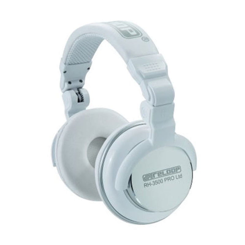 Reloop RH3500PROLTD White Dj Headphone - PSSL ProSound and Stage Lighting