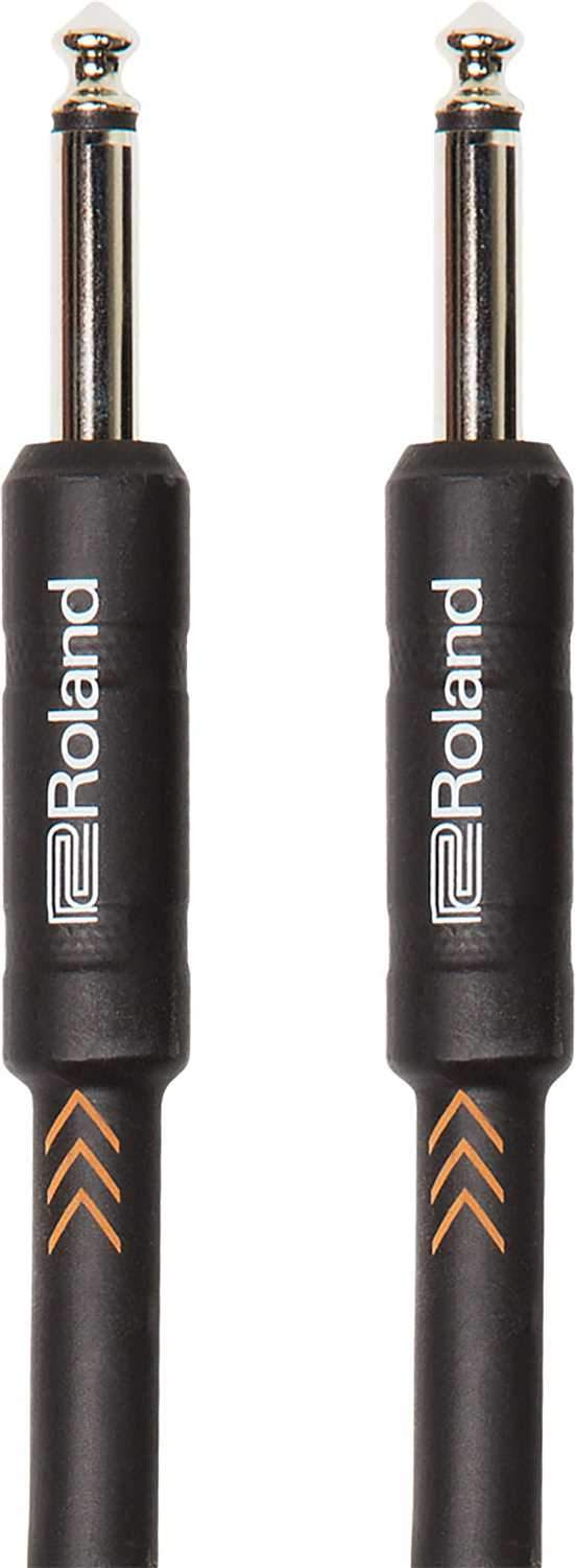 Roland RIC-B25 25ft Black Series 1/4 inch Instrument Cable - PSSL ProSound and Stage Lighting