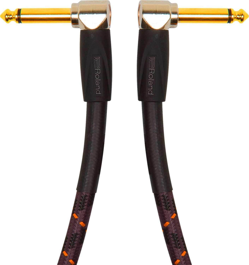 Roland RIC-GPC 6 Inch Instrument Cable Gold Series - PSSL ProSound and Stage Lighting
