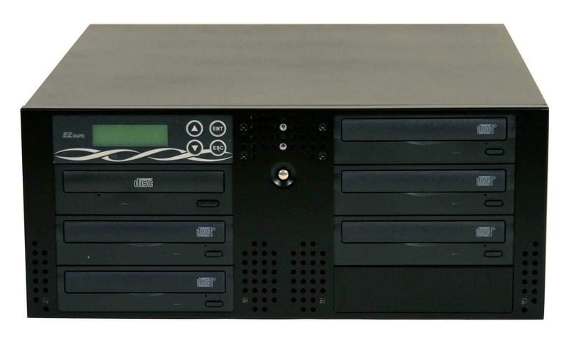 EZDupe RK5TLOB 1X5 Duplicator Rackmountable -Black - PSSL ProSound and Stage Lighting