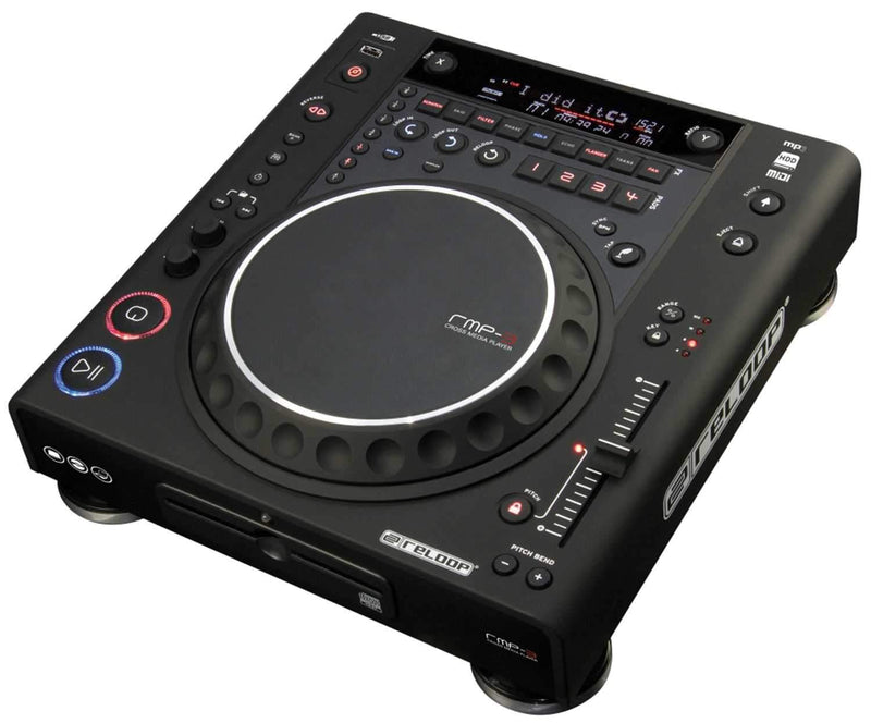 Reloop RMP-3 Alpha Media Player & USB Controller - PSSL ProSound and Stage Lighting