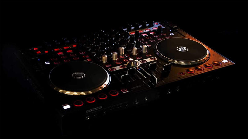 Reloop Terminal Mix 4 Serato DJ Intro Controller - PSSL ProSound and Stage Lighting