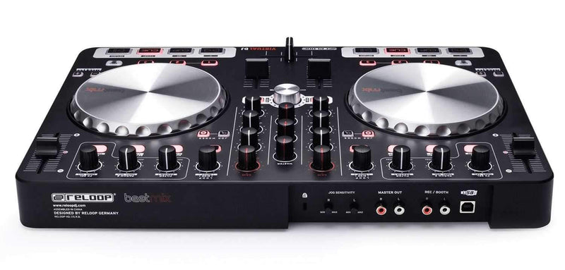 Reloop Beatmix Virtual DJ Controller & Audio Intfc - PSSL ProSound and Stage Lighting