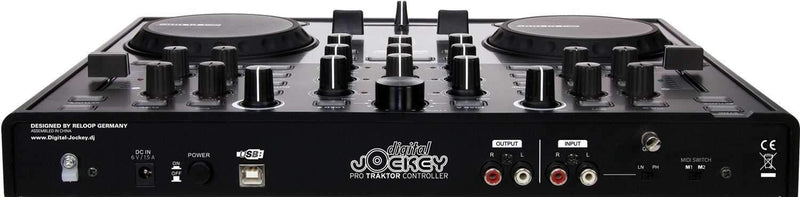 Reloop Digital Jockey Controller with Audio I/O - PSSL ProSound and Stage Lighting