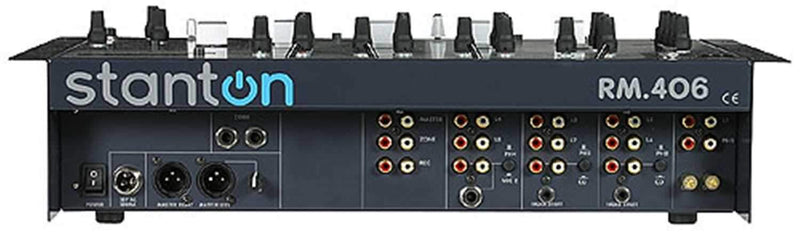 Stanton RM-406 19 DJ Mixer with Effects Loop Sub Out - PSSL ProSound and Stage Lighting