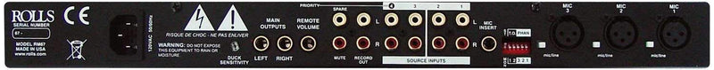 Rolls Microphone Source Mixer - PSSL ProSound and Stage Lighting