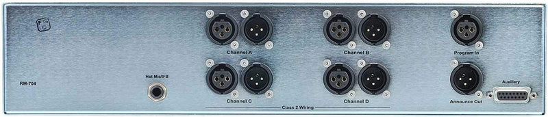 Clear-Com 4-Channel Remote Station Rack Mount - PSSL ProSound and Stage Lighting