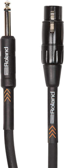 Roland RMC-B20-HIZ 20ft HI Z 1/4-inch to XLR Microphone Cable - PSSL ProSound and Stage Lighting