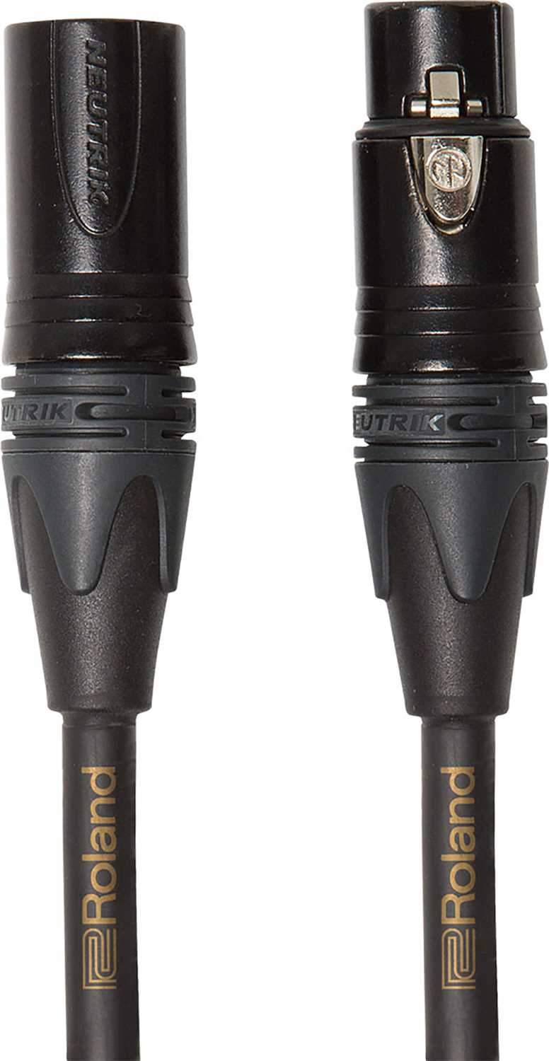 Roland RMC-G3 3ft Microphone Cable Gold Series - PSSL ProSound and Stage Lighting