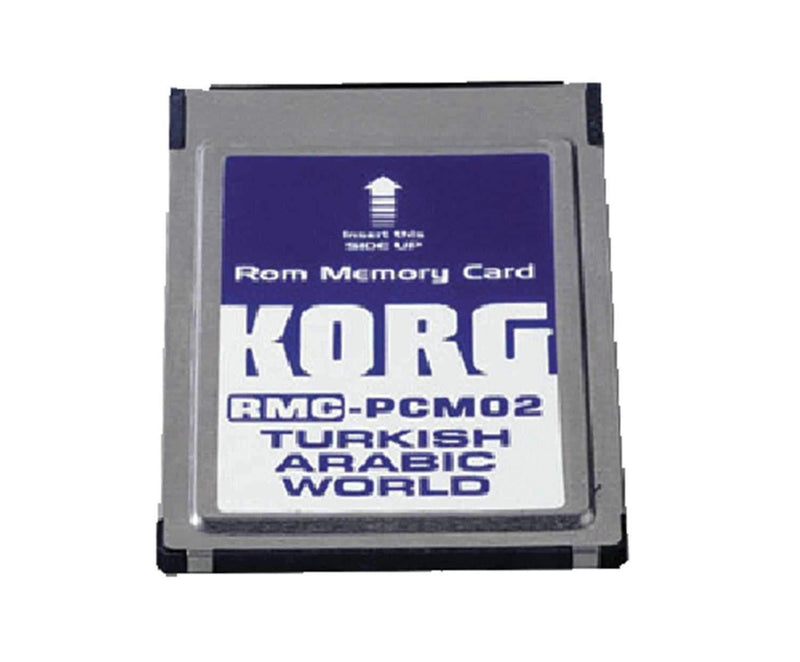 Korg RMC-PCM02 Expansion Card for PA80-Middle East - PSSL ProSound and Stage Lighting