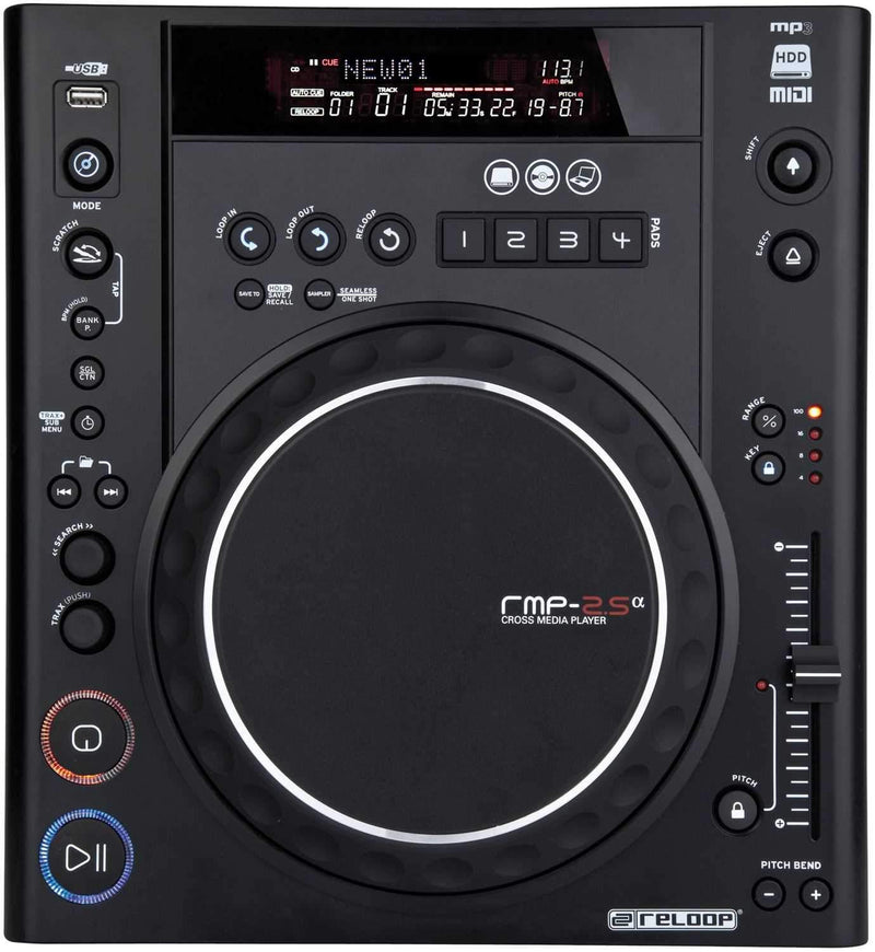 Reloop RMP 2.5 Alpha Table Top CD Player - PSSL ProSound and Stage Lighting