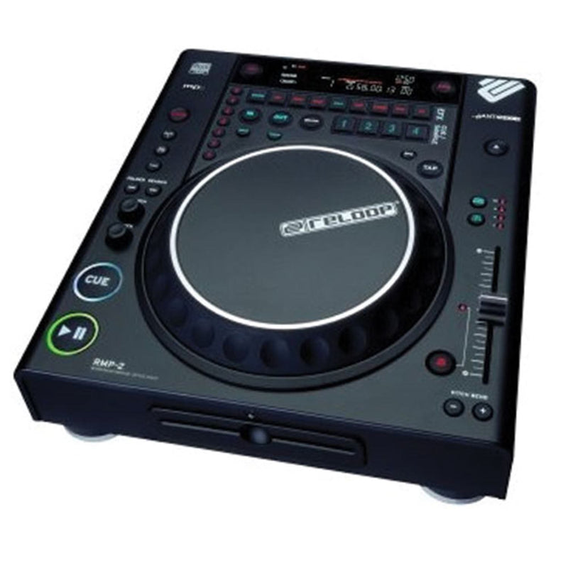 Reloop RMP-2 Table Top CD Player with MP3 - PSSL ProSound and Stage Lighting