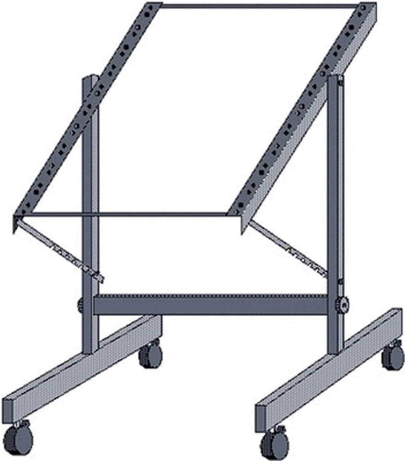 Hosa RMT-152 12U Tilt-adjust Rolling Studio Rack - PSSL ProSound and Stage Lighting