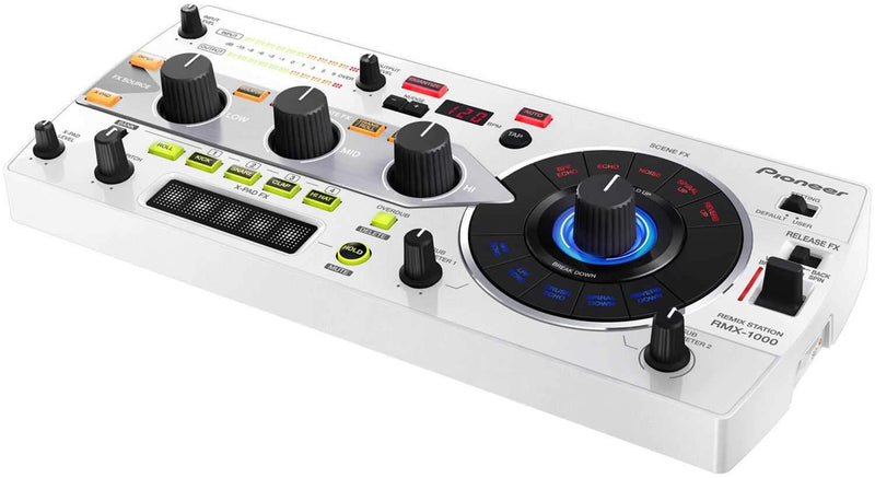Pioneer RMX-1000-W White DJ Remix Station and FX - PSSL ProSound and Stage Lighting