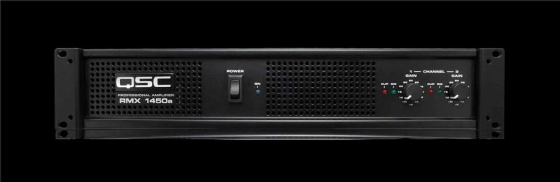 QSC RMX1450a Power Amplifier - PSSL ProSound and Stage Lighting