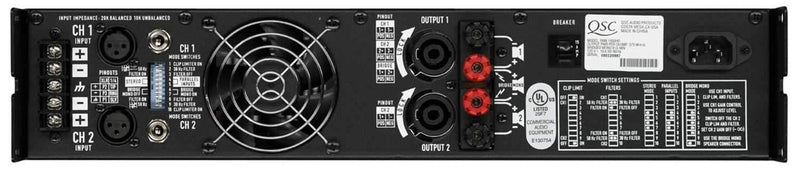 QSC RMX1850HD Power Amplifier - PSSL ProSound and Stage Lighting