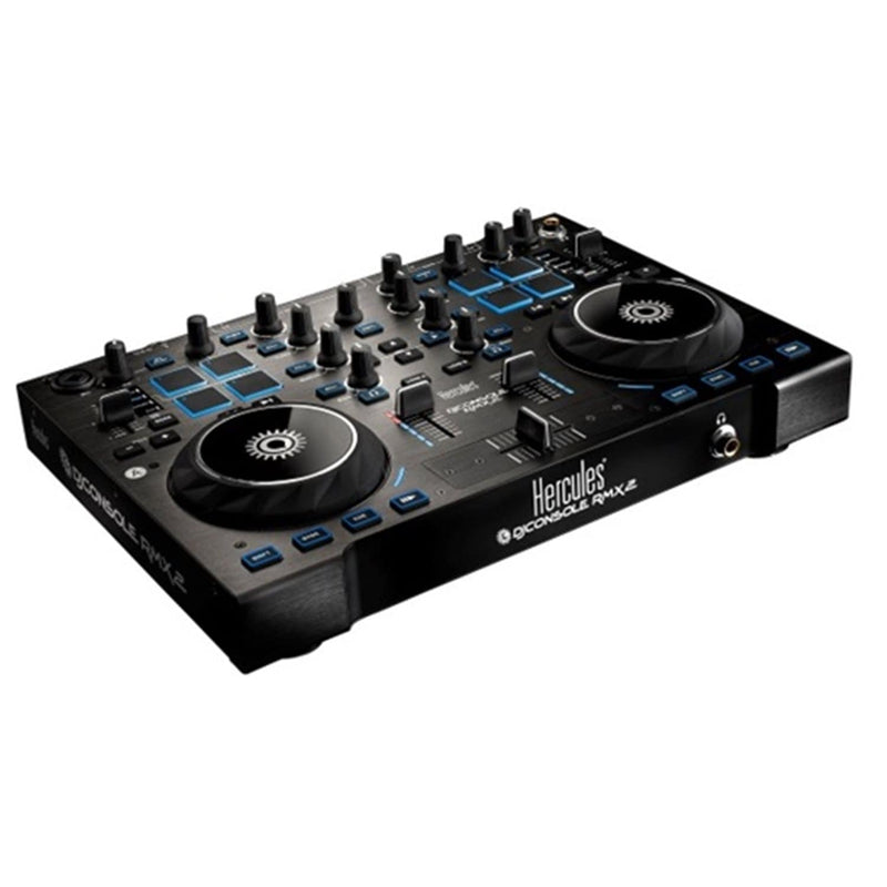 Hercules DJConsole RMX2 Black 2-Deck DJ Controller - PSSL ProSound and Stage Lighting