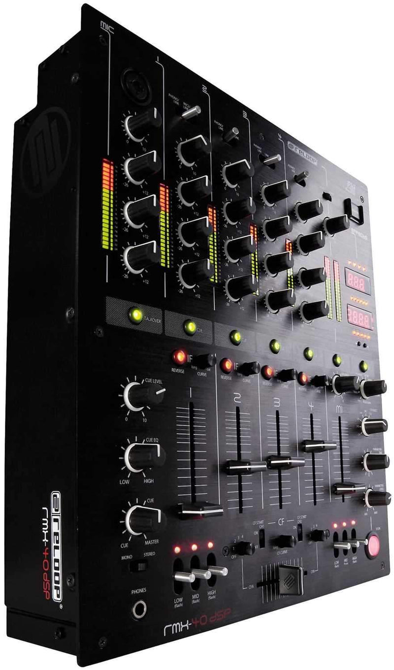 Reloop RMX40 DSP 4-Ch DJ Mixer with DSP - PSSL ProSound and Stage Lighting