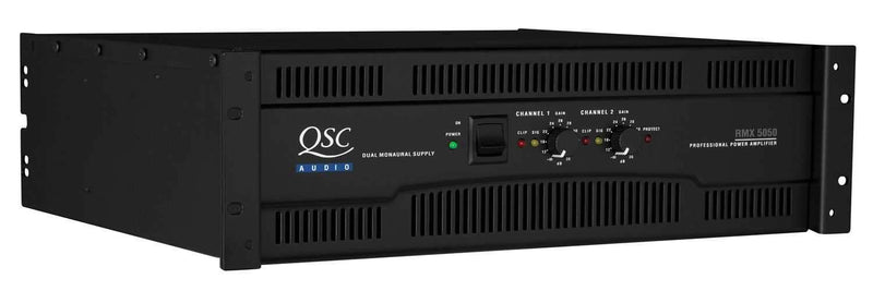 QSC RMX5050 Power Amplifier - 20 Amp - PSSL ProSound and Stage Lighting