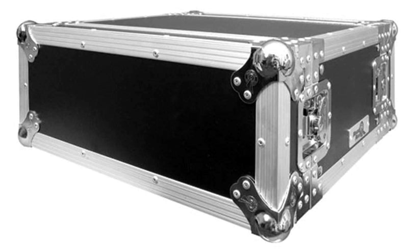 Road Ready RR4UEDHW 4 Space Deluxe Rack Case - PSSL ProSound and Stage Lighting