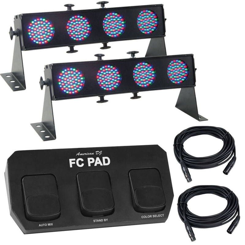 American DJ Rock Pack LED System - PSSL ProSound and Stage Lighting