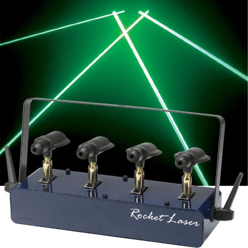Omnisistem ROCKET-LASER-II Green 4.95Mw - PSSL ProSound and Stage Lighting