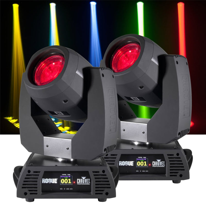 Chauvet Rogue R1 Beam 2 Pack with Flight Case - PSSL ProSound and Stage Lighting