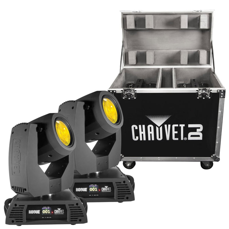 Chauvet Rogue R2 Beam 2 Pack With Flight Case - PSSL ProSound and Stage Lighting