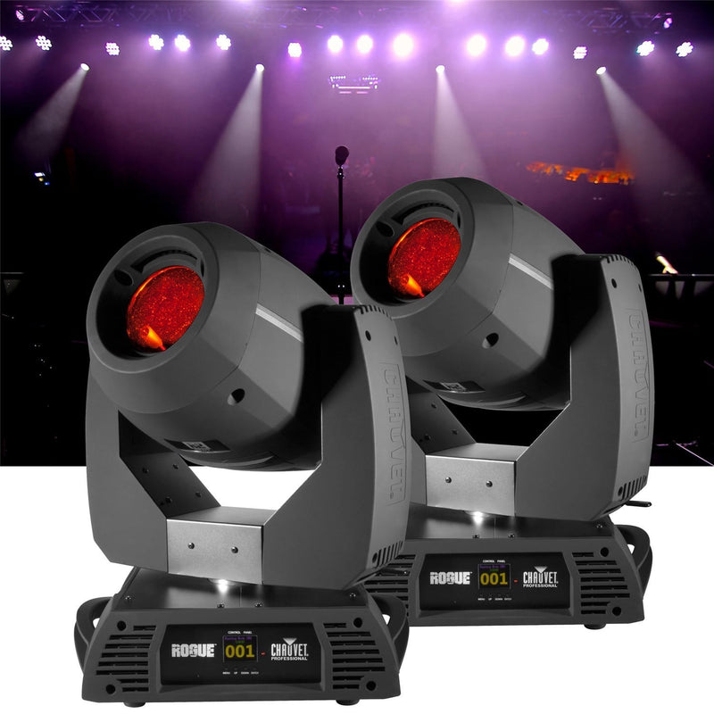 Chauvet Rogue R2 LED Spot 2 Pack with Flight Case - PSSL ProSound and Stage Lighting