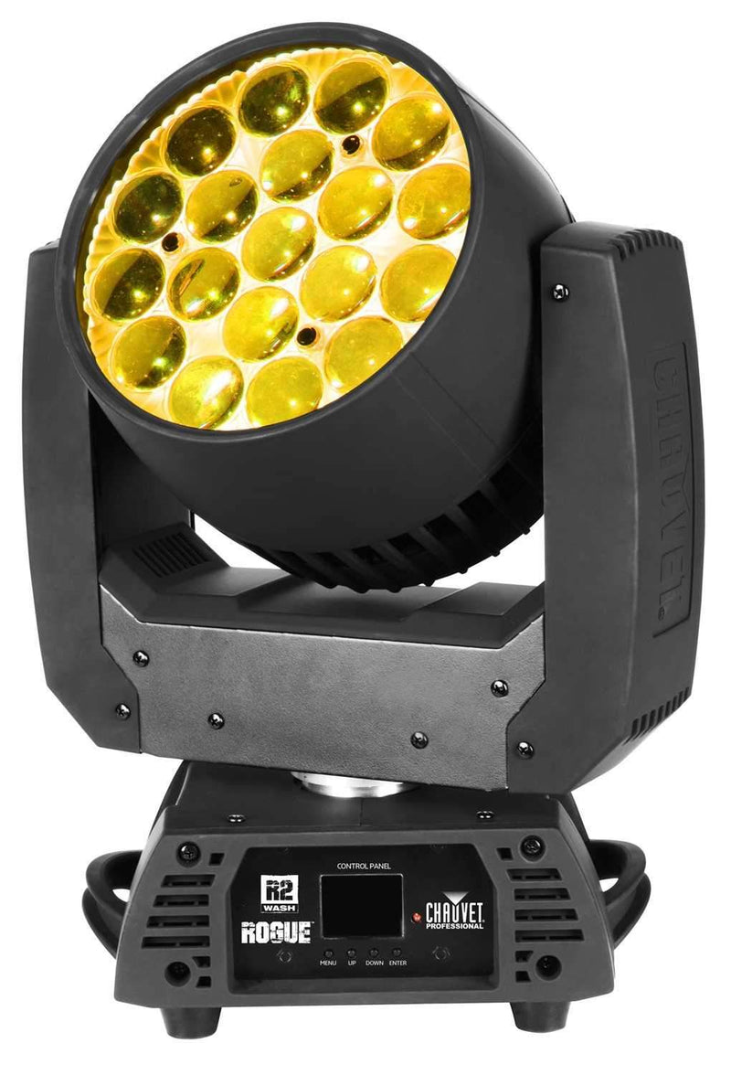 Chauvet Rogue R2 Wash 19x15-Watt RGBW LED Moving Head Light - PSSL ProSound and Stage Lighting