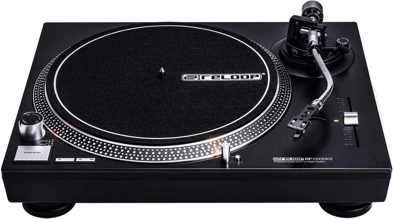 Reloop RP-1000 MK2 Belt Drive Turntable - PSSL ProSound and Stage Lighting