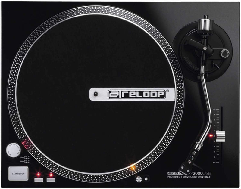 Reloop RP-2000-USB Direct Drive Turntable with USB - PSSL ProSound and Stage Lighting