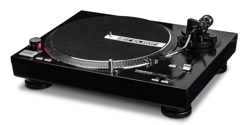 Reloop RP-4000M Direct Drive DJ Turntable - PSSL ProSound and Stage Lighting