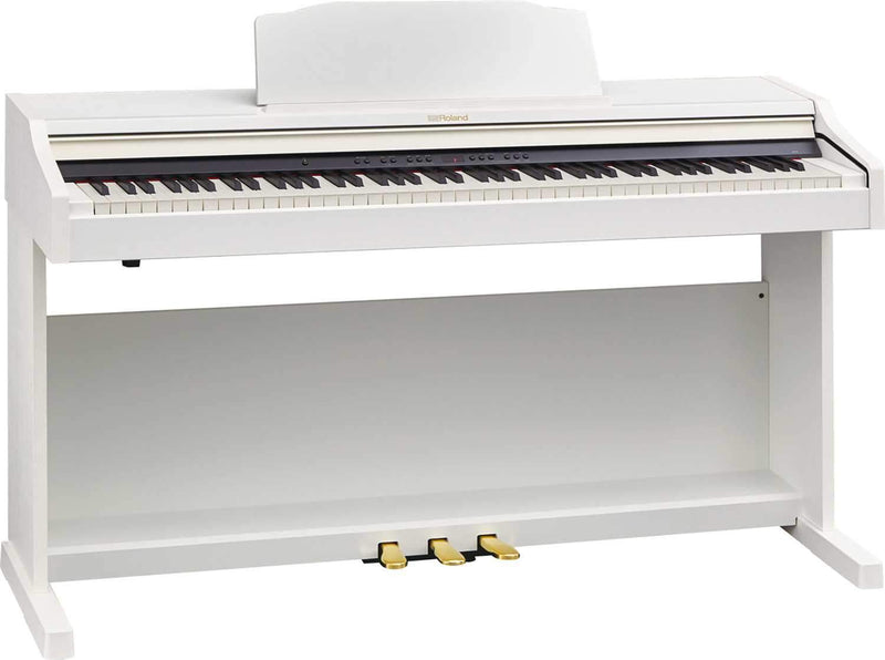 Roland RP-501R-WHC White Digital Piano - PSSL ProSound and Stage Lighting