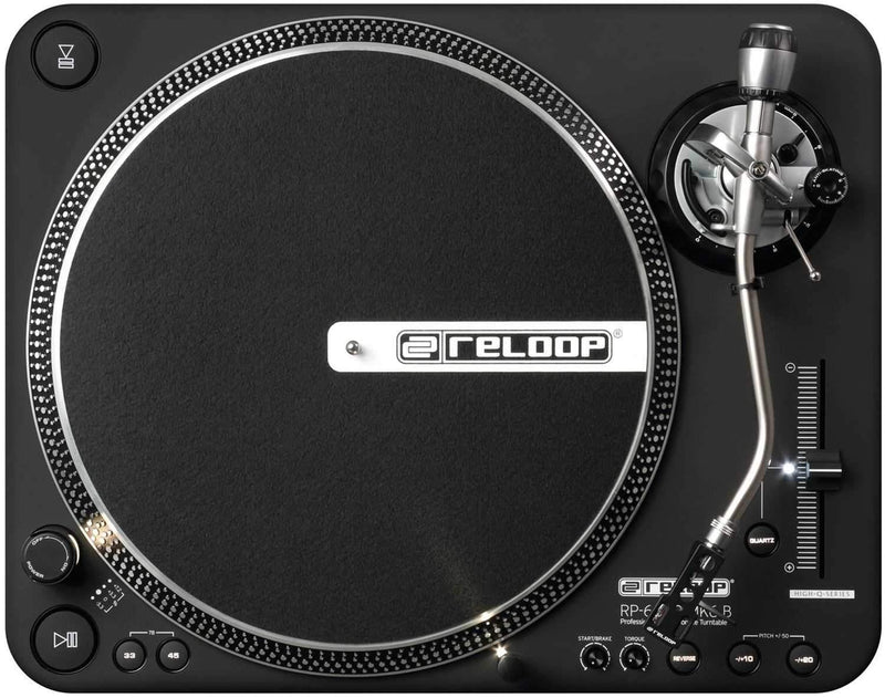 Reloop RP6000MK6 Direct Drive Turntable with Needle - PSSL ProSound and Stage Lighting